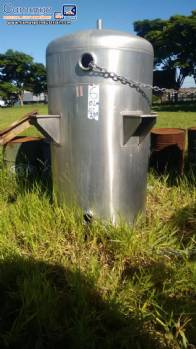 Stainless steel tank for storage 1200 L