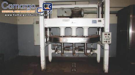 Automatic line for the production of softened cookies 2.000 kg