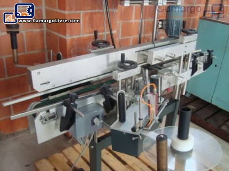 Automatic labeller for Bauch Campos cartridges