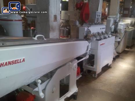 Manufacturing line of candies and lollipops Hansella brand
