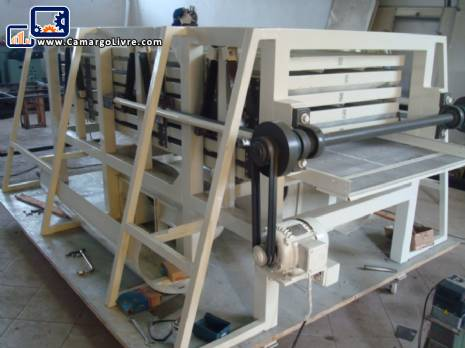 Trabato cut pasta with capacity to 300 kgs/hour