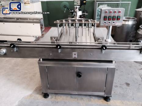 Filling machine with nozzles 7 - N