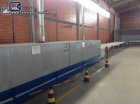 Industrial oven manufacturer Fornimaq electric Rotary
