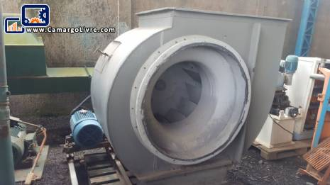 Industrial exhaust fan Brand Projelmec model CLS - 900 R - 90