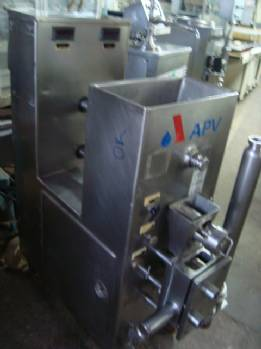 Development of pulps for ice cream in stainless steel