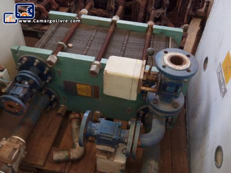 Plate heat exchanger alfa laval