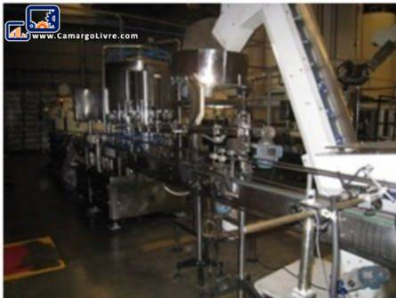 Filling machine with 12 nozzles IMSB