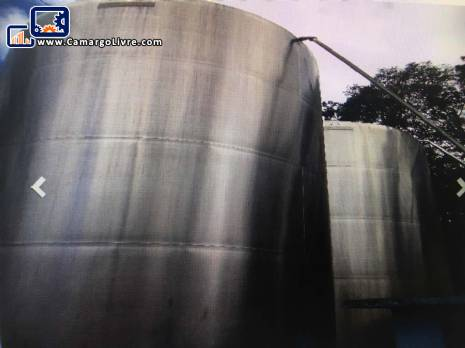 Stainless steel tank for 50,000 liters
