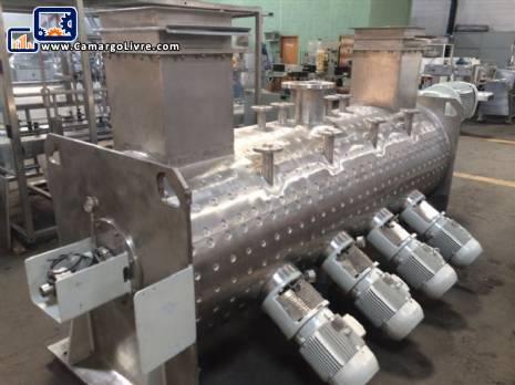 Horizontal intensive mixer of powders Semco