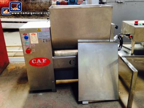 Industrial mixer for stainless steel meat