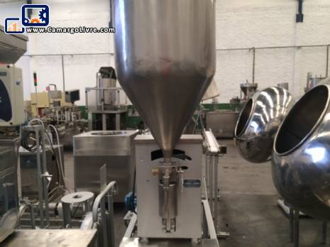 Semi automatic filling with 1 piston-N
