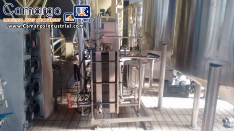 System and pasteurization Equilati