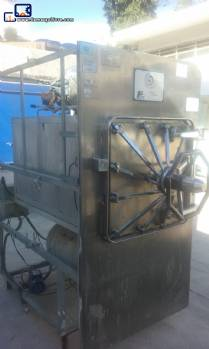 Industrial horizontal autoclave