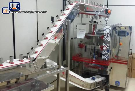 Vertical volumetric packing machine Maqinox