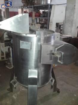 Potato peeler in stainless steel AJM
