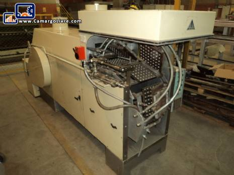 Industrial oven for WA18 model for wafer candy manufacturer Haas