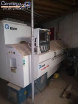 CNC industrial lathe Romi Centur 30 D