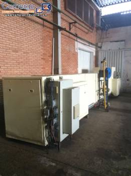 Gas furnace of 30 German plates wafer
