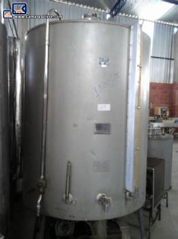 Tank jacketed with cooling