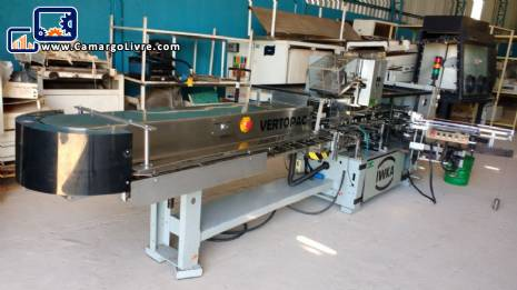 Cartoner machine Vertopac IWKA