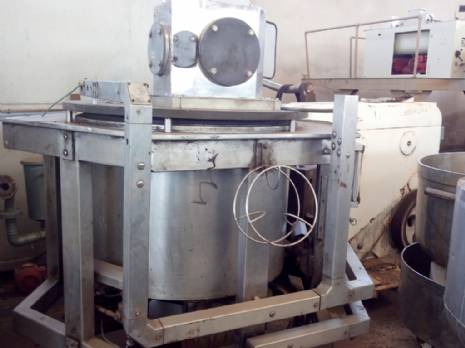 Industrial mixer tank for cream Damix