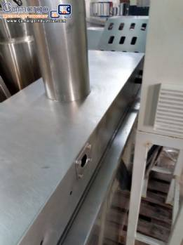 Industrial fryer continuous system for snack foods MCI