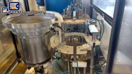 Rotary filling with capper Wada