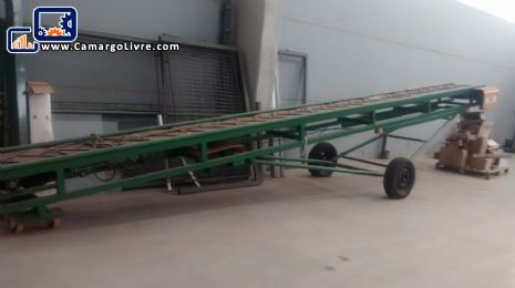 Conveyor belt for trucks Helomaq