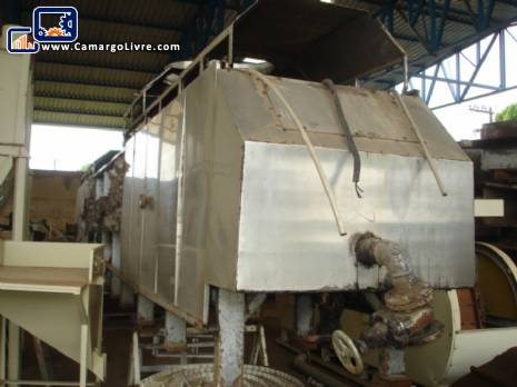 Deep Fryer and dryer for continuous production of potatoes