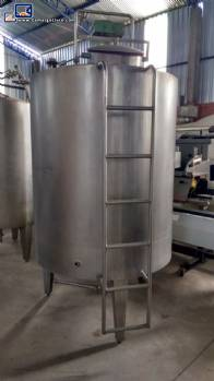 Stainless steel tank 3.000 L Brasholanda