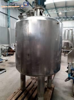 Stainless steel pressure reactor 1.100 L