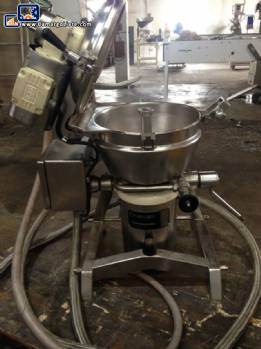 Geiger jacketed processor stainless steel