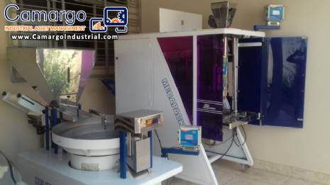 Packing and weighing machine JHM