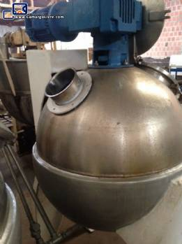 200 litre stainless steel ball Pan