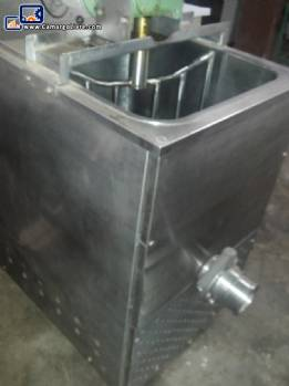 Pan 80 litres mixer with heating system