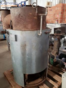 Vertical boiler with GLP gas West