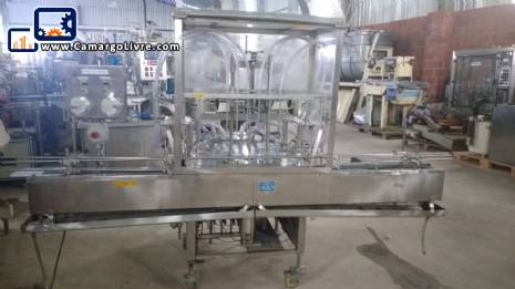 Filling machine with 06 nozzles Conserli EA 6