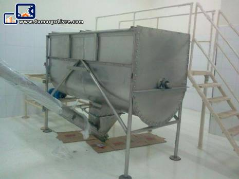 Ribbon type mixer Blender stainless steel 304
