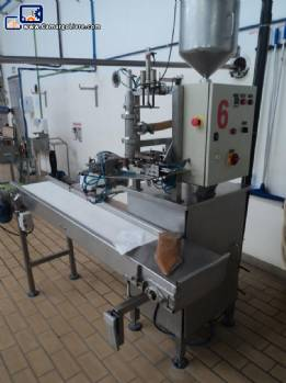 Filling/sacheteira in stainless steel for Burgmann packaging of liquid and Pasty products