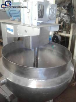 Candy cooker stainless steel  for 50 L Imacom