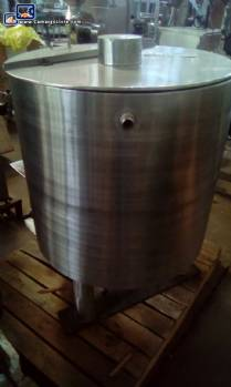Chocolate melting tank 200 L