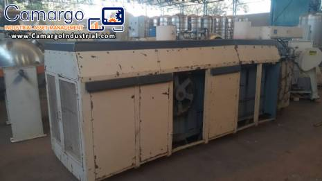 Continuous oven for wafer production Haas