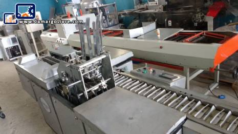 Cartoning machine IWKA