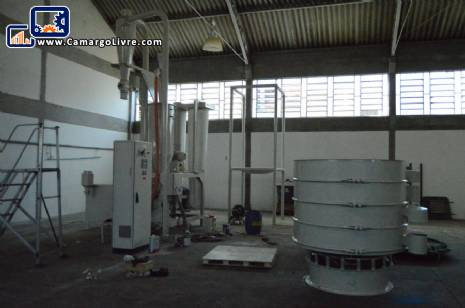 Micronizing mill for polyethylene and pvc Pallmann