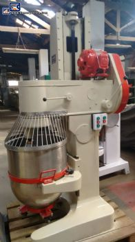 Industrial mixer with stainless steel pan  Amádio