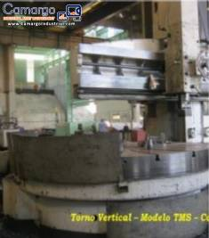 Lathe with 3,000 mm table TMS