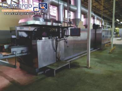 Line for manufacturing wafer biscuits Coral